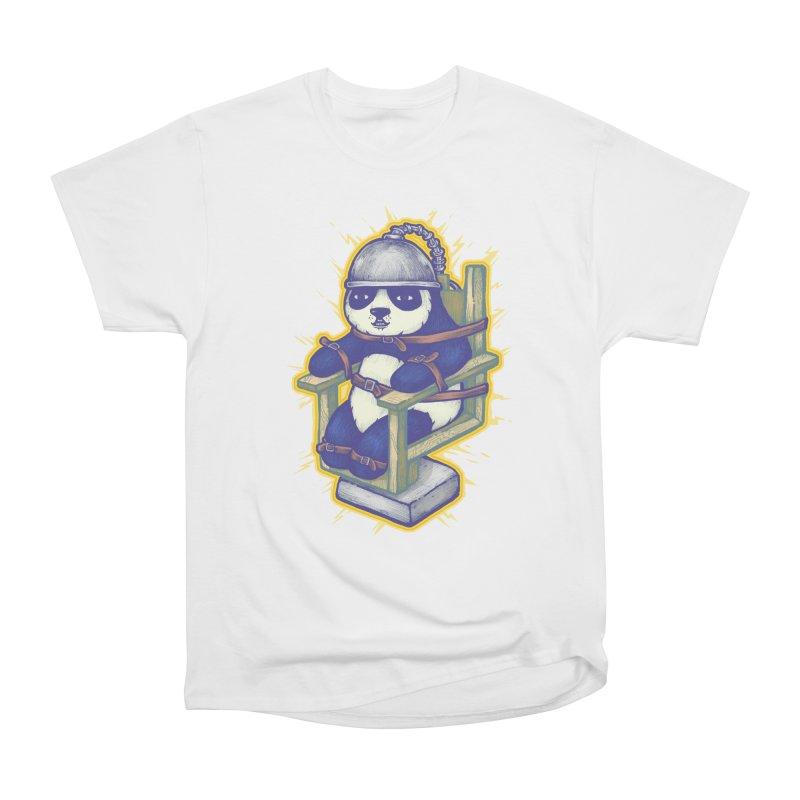 Electric Panda Men's Heavyweight T-Shirt by villainmazk's Artist Shop