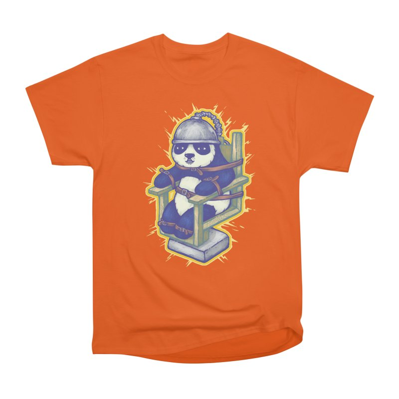 Electric Panda Women's Heavyweight Unisex T-Shirt by villainmazk's Artist Shop