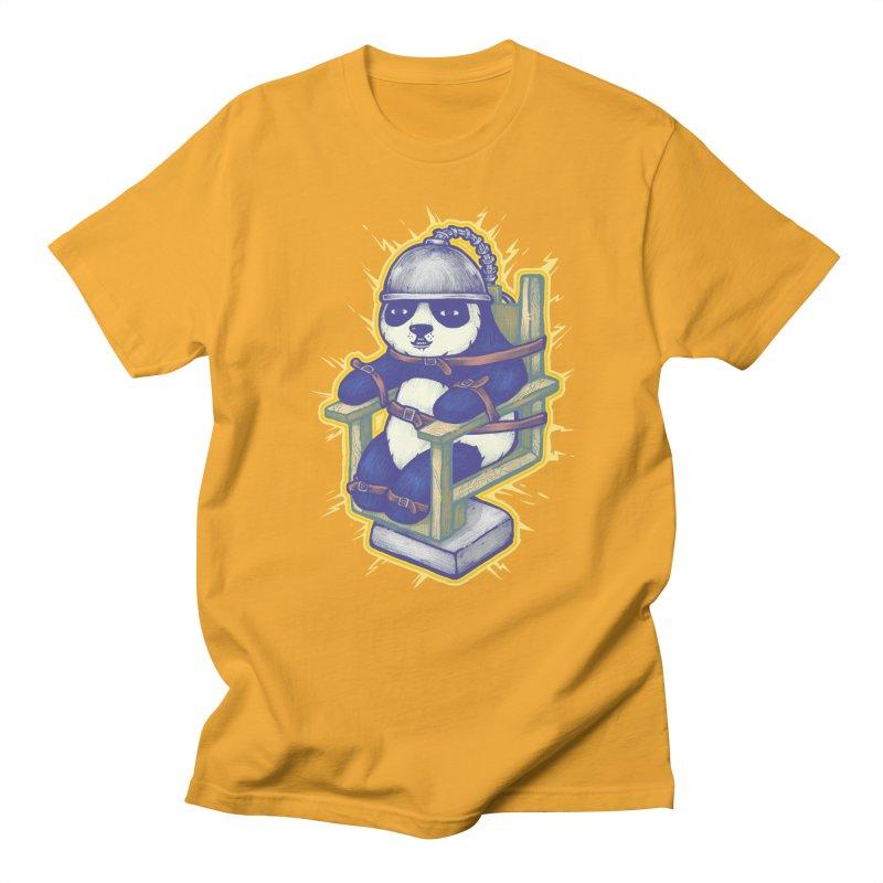 Electric Panda Men's T-Shirt by villainmazk's Artist Shop