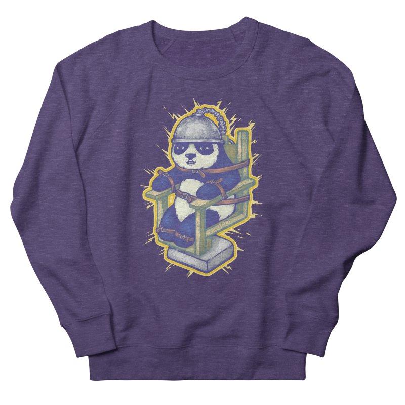 Electric Panda Men's French Terry Sweatshirt by villainmazk's Artist Shop