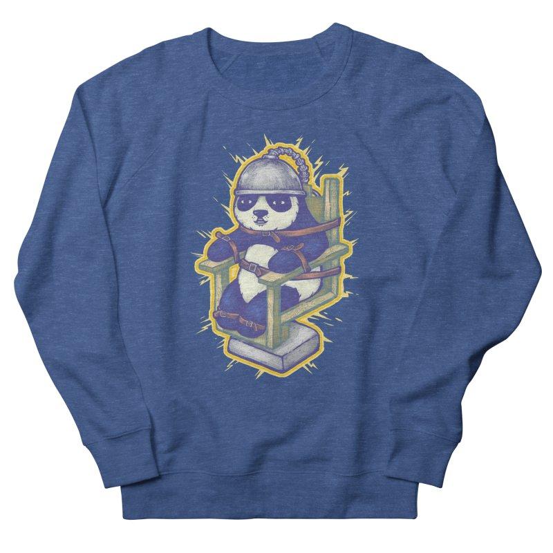Electric Panda Men's Sweatshirt by villainmazk's Artist Shop