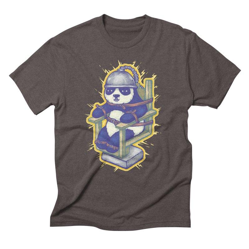 Electric Panda Men's Triblend T-Shirt by villainmazk's Artist Shop