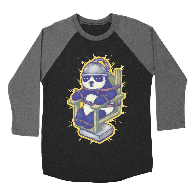 Electric Panda Women's Baseball Triblend T-Shirt by villainmazk's Artist Shop