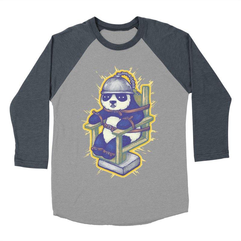 Electric Panda Women's Baseball Triblend Longsleeve T-Shirt by villainmazk's Artist Shop
