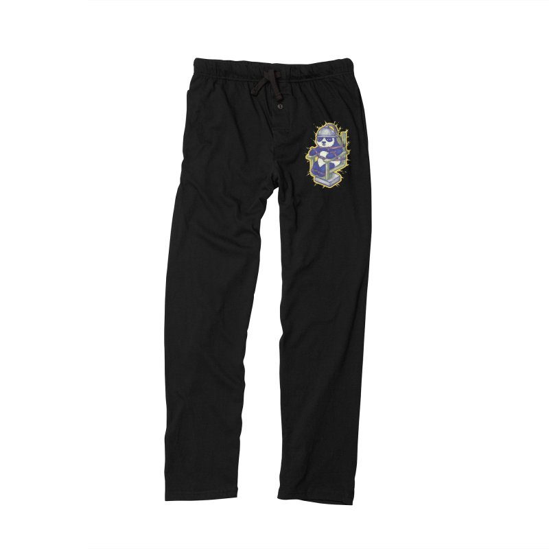 Electric Panda Men's Lounge Pants by villainmazk's Artist Shop