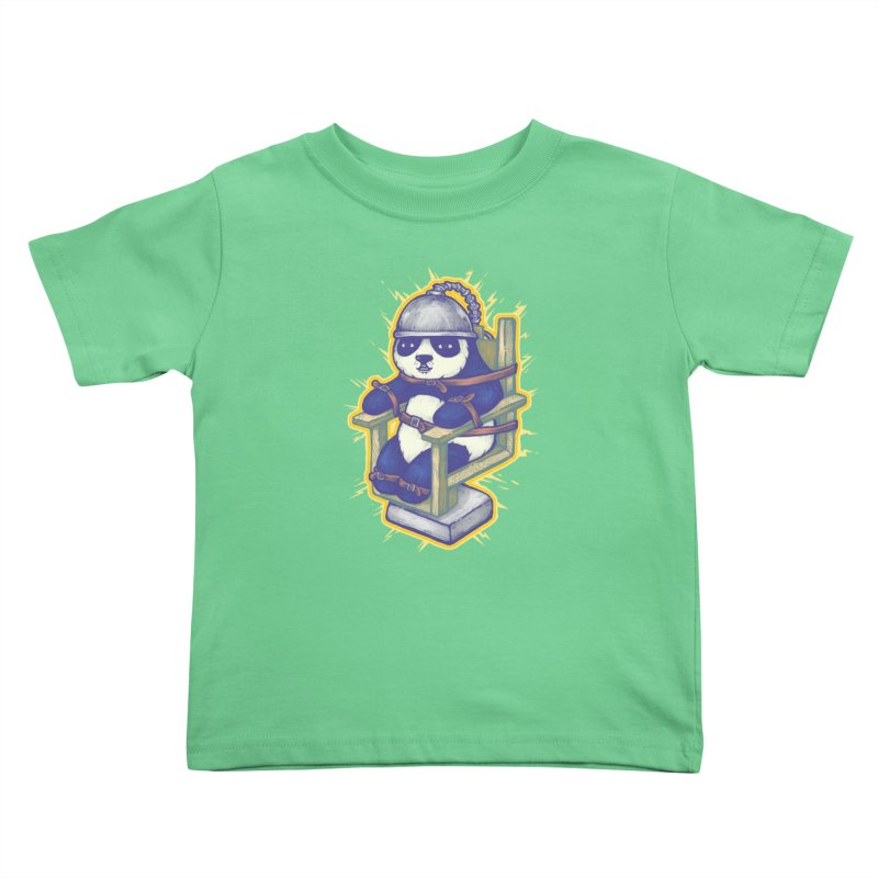 Electric Panda Kids Toddler T-Shirt by villainmazk's Artist Shop