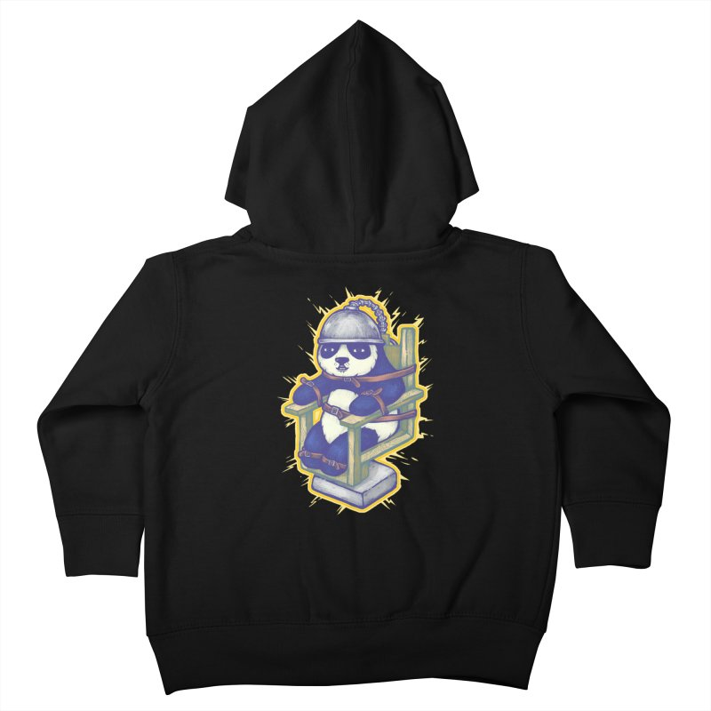 Electric Panda Kids Toddler Zip-Up Hoody by villainmazk's Artist Shop