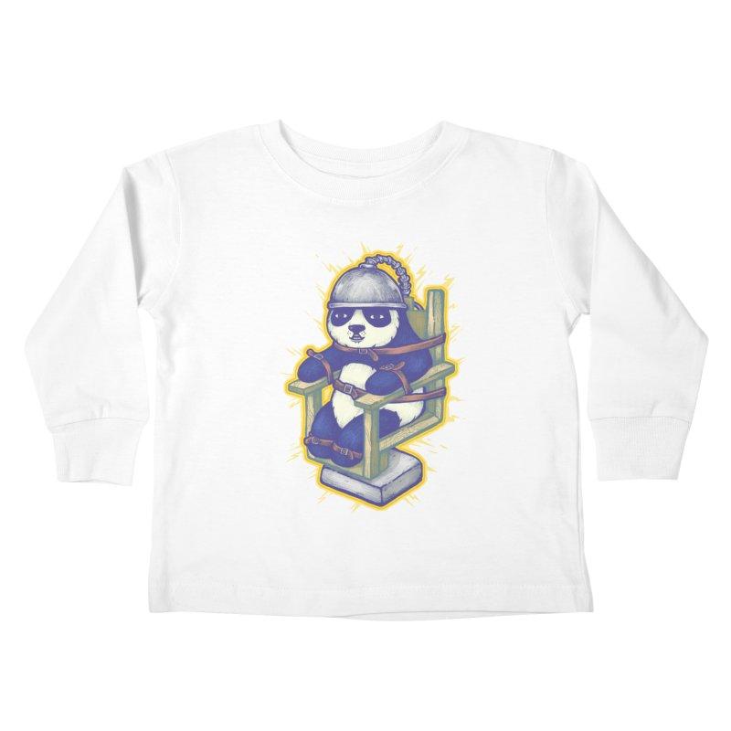 Electric Panda Kids Toddler Longsleeve T-Shirt by villainmazk's Artist Shop