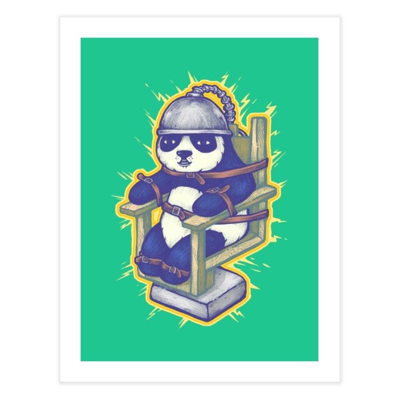Electric Panda Home Fine Art Print by villainmazk's Artist Shop