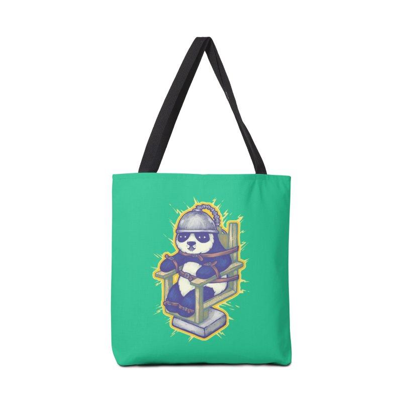 Electric Panda Accessories Bag by villainmazk's Artist Shop
