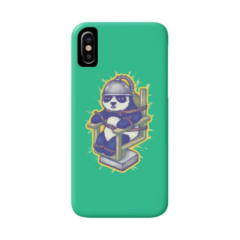 Electric Panda Accessories Phone Case by villainmazk's Artist Shop