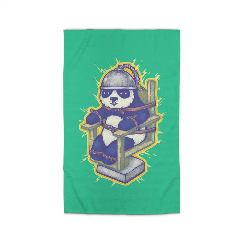 Electric Panda Home Rug by villainmazk's Artist Shop