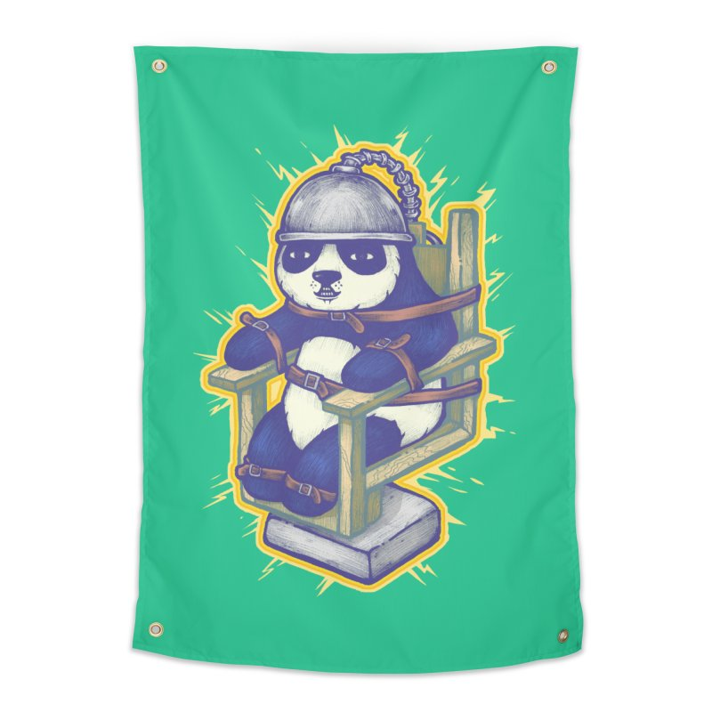 Electric Panda Home Tapestry by villainmazk's Artist Shop