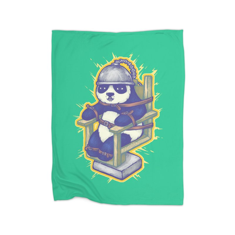 Electric Panda Home Blanket by villainmazk's Artist Shop