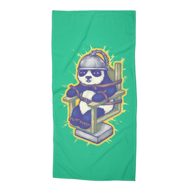 Electric Panda Accessories Beach Towel by villainmazk's Artist Shop