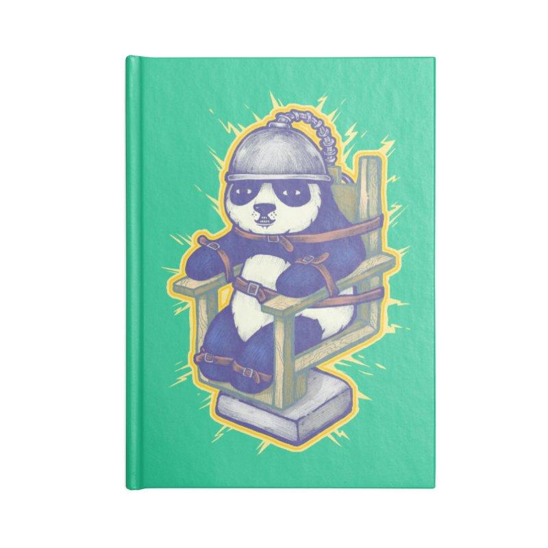 Electric Panda Accessories Notebook by villainmazk's Artist Shop