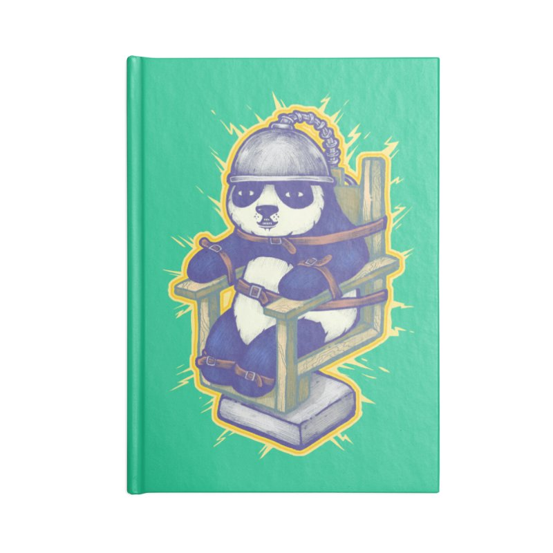 Electric Panda Accessories Notebook by villainmazk's Artist Shop