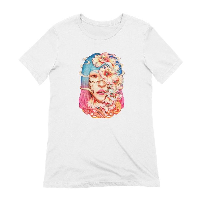 The Shape of Flowers Women's T-Shirt by villainmazk's Artist Shop