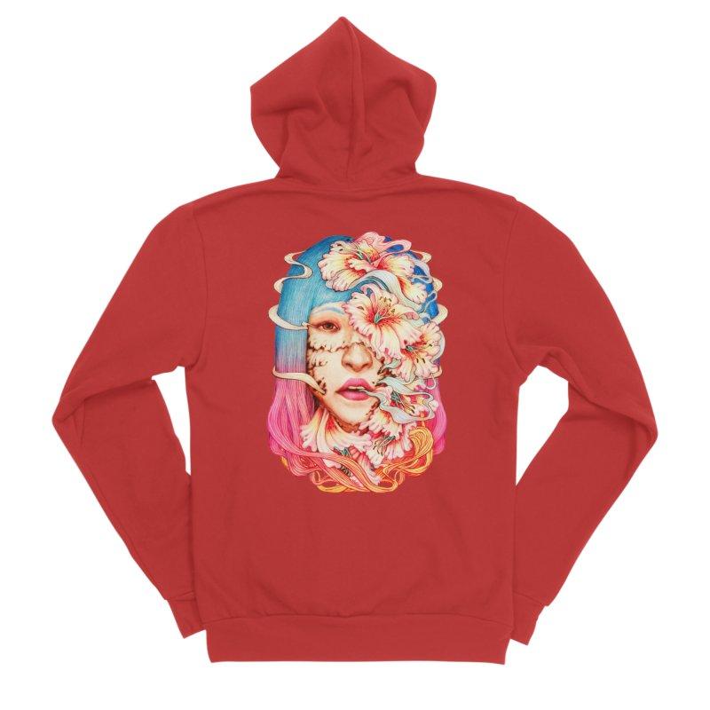 The Shape of Flowers Men's Zip-Up Hoody by villainmazk's Artist Shop