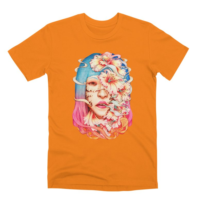 The Shape of Flowers Men's T-Shirt by villainmazk's Artist Shop