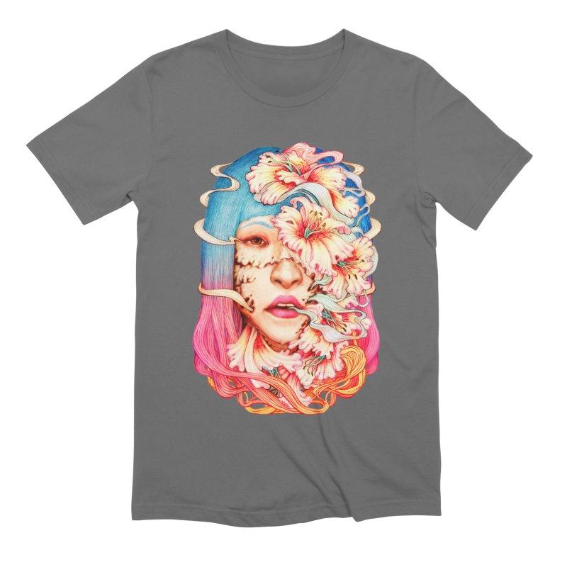 The Shape of Flowers Men's T-Shirt by villainmazk's Artist Shop