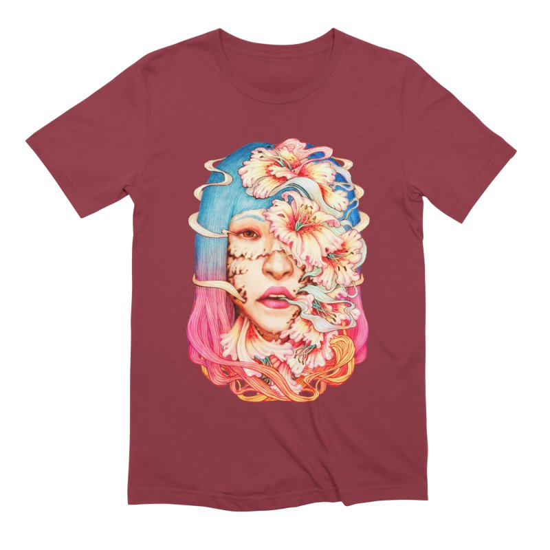 The Shape of Flowers Men's Extra Soft T-Shirt by villainmazk's Artist Shop