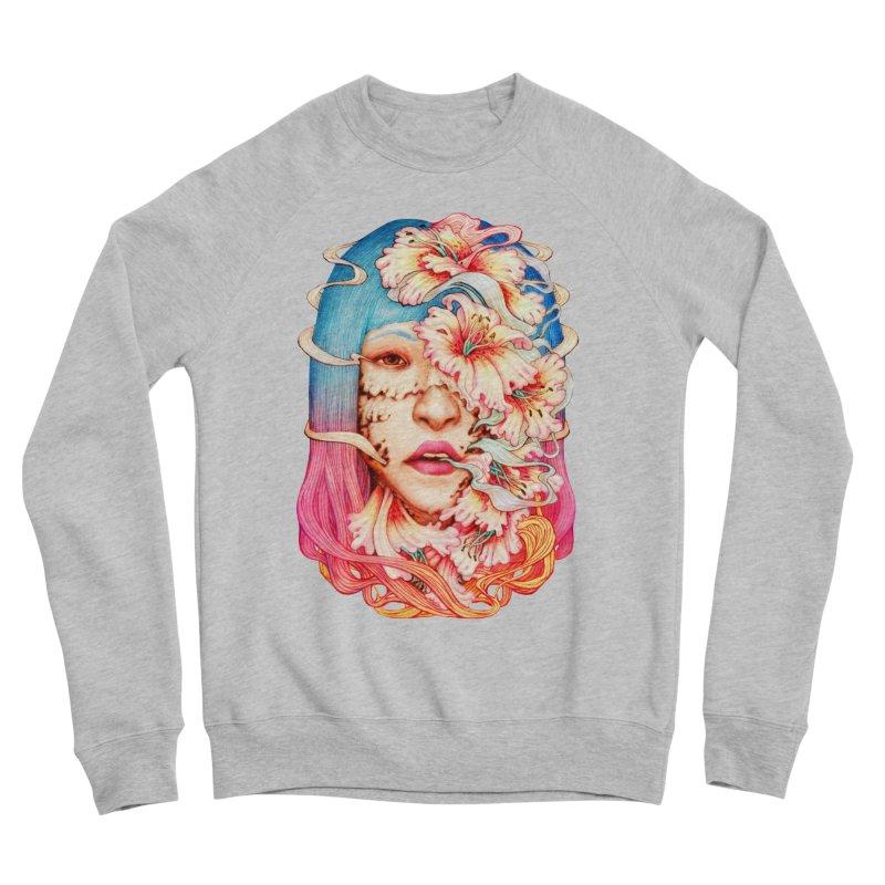 The Shape of Flowers Women's Sponge Fleece Sweatshirt by villainmazk's Artist Shop