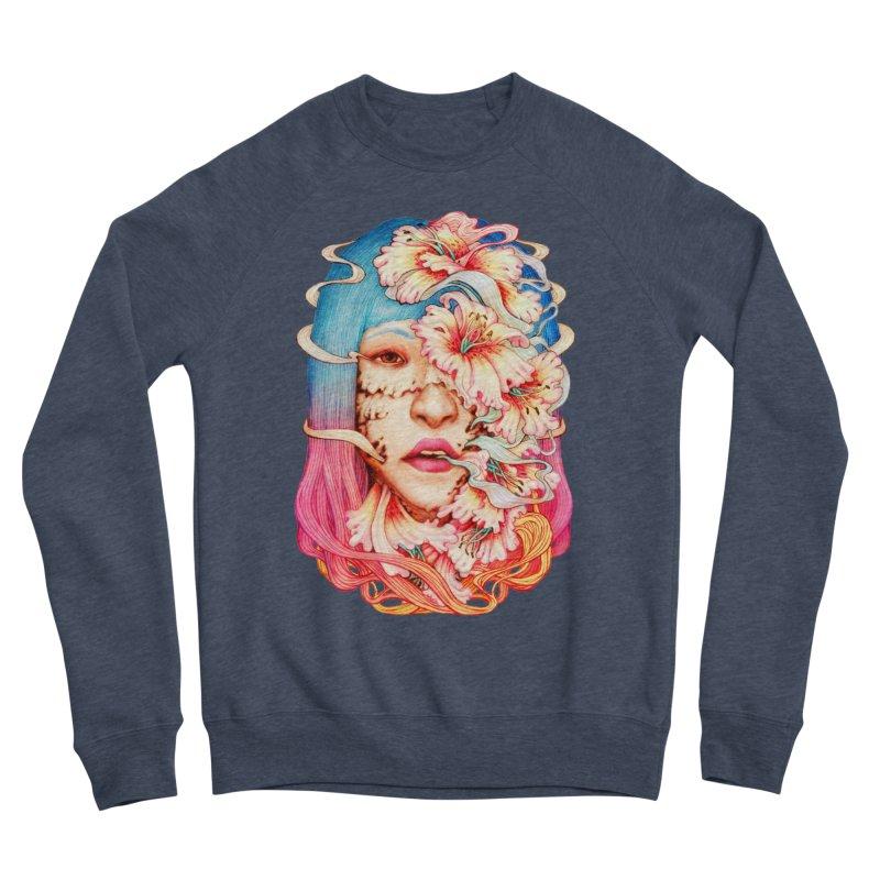 The Shape of Flowers Men's Sponge Fleece Sweatshirt by villainmazk's Artist Shop