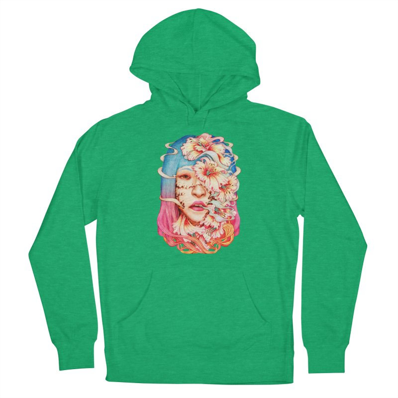 The Shape of Flowers Men's Pullover Hoody by villainmazk's Artist Shop