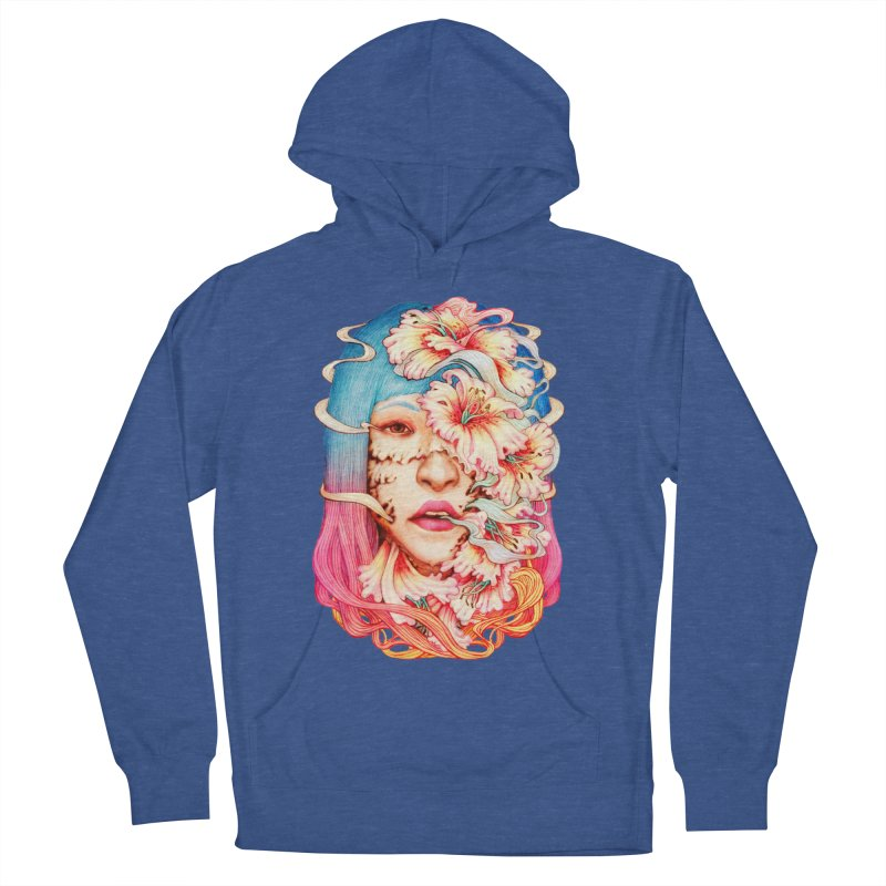 The Shape of Flowers Men's French Terry Pullover Hoody by villainmazk's Artist Shop
