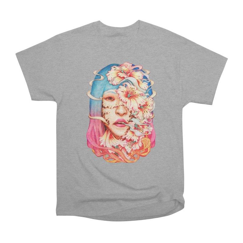 The Shape of Flowers Women's Heavyweight Unisex T-Shirt by villainmazk's Artist Shop