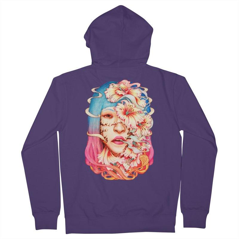 The Shape of Flowers Women's Zip-Up Hoody by villainmazk's Artist Shop