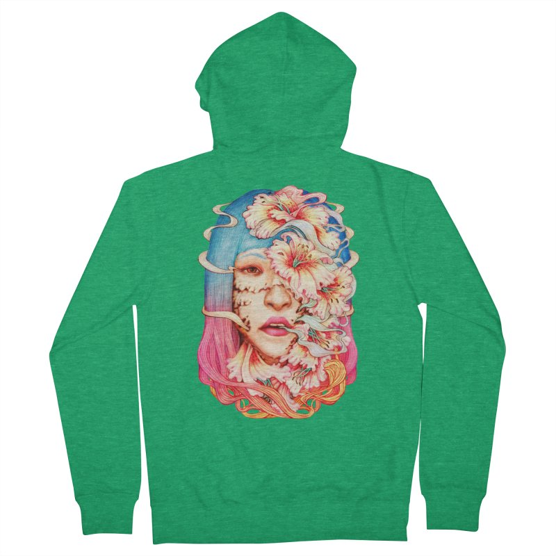 The Shape of Flowers Men's Zip-Up Hoody by villainmazk's Artist Shop
