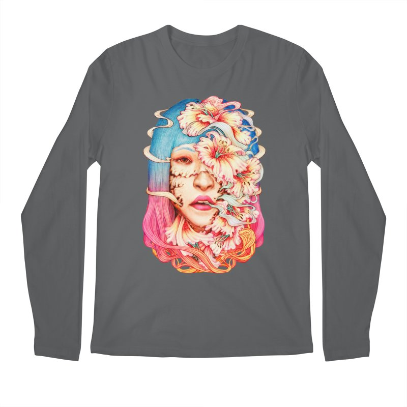 The Shape of Flowers Men's Longsleeve T-Shirt by villainmazk's Artist Shop