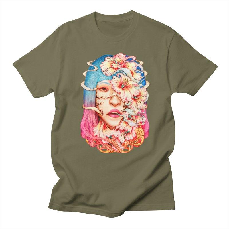 The Shape of Flowers Women's Unisex T-Shirt by villainmazk's Artist Shop