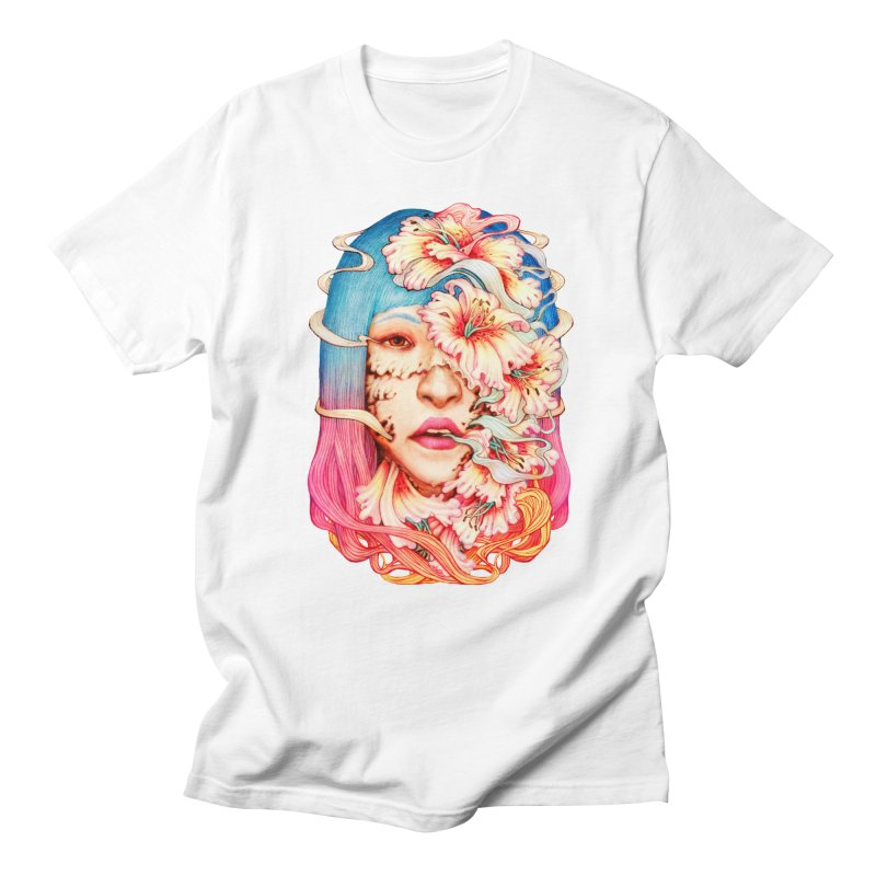 The Shape of Flowers Men's Regular T-Shirt by villainmazk's Artist Shop