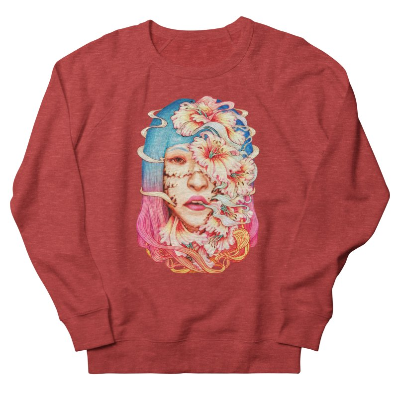 The Shape of Flowers Women's French Terry Sweatshirt by villainmazk's Artist Shop