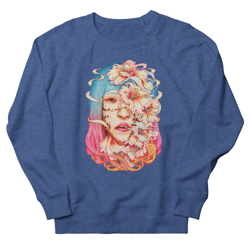The Shape of Flowers Men's Sweatshirt by villainmazk's Artist Shop