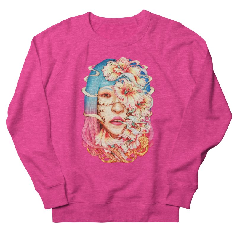 The Shape of Flowers Men's French Terry Sweatshirt by villainmazk's Artist Shop
