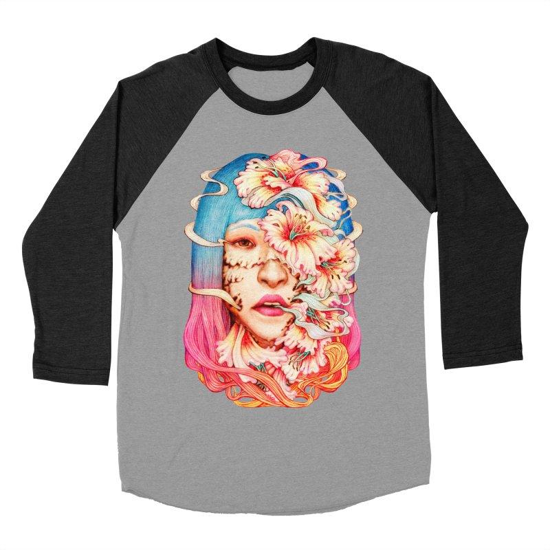 The Shape of Flowers Women's Longsleeve T-Shirt by villainmazk's Artist Shop