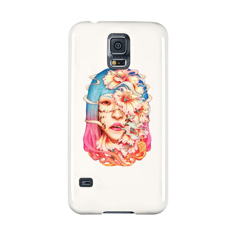 The Shape of Flowers Accessories Phone Case by villainmazk's Artist Shop