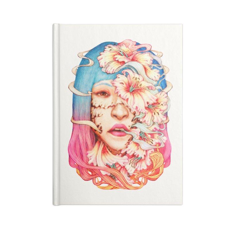 The Shape of Flowers Accessories Notebook by villainmazk's Artist Shop