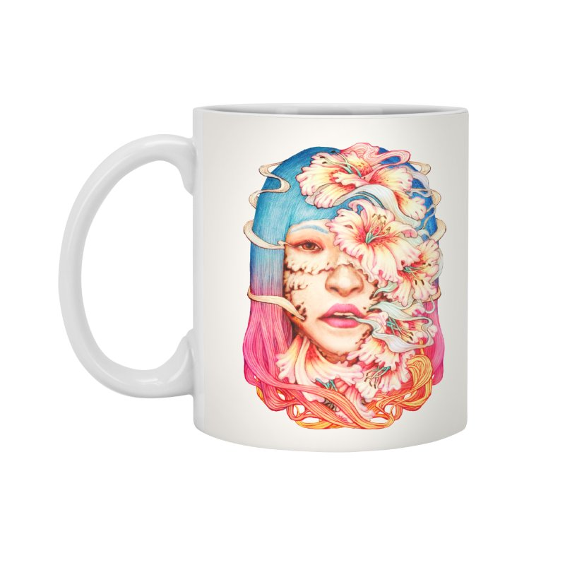 The Shape of Flowers Accessories Mug by villainmazk's Artist Shop