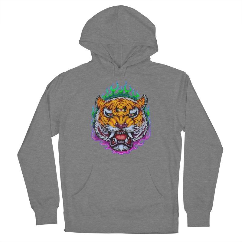 Third Eye Tiger Women's Pullover Hoody by villainmazk's Artist Shop