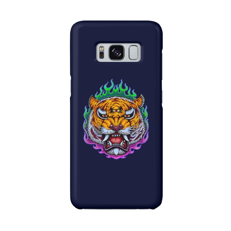 Third Eye Tiger Accessories Phone Case by villainmazk's Artist Shop