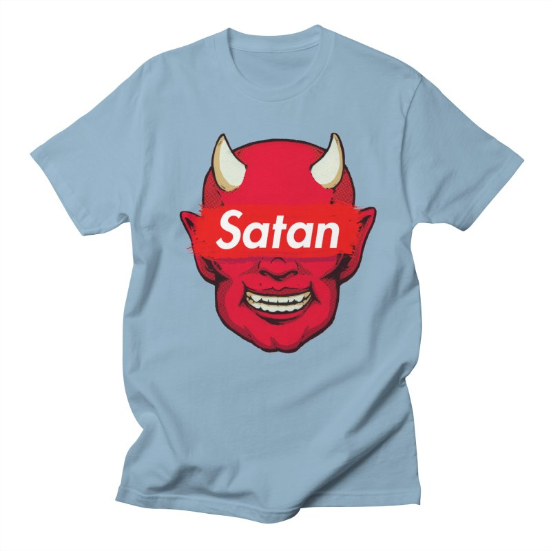 Satan Supreme Men's T-Shirt by villainmazk's Artist Shop