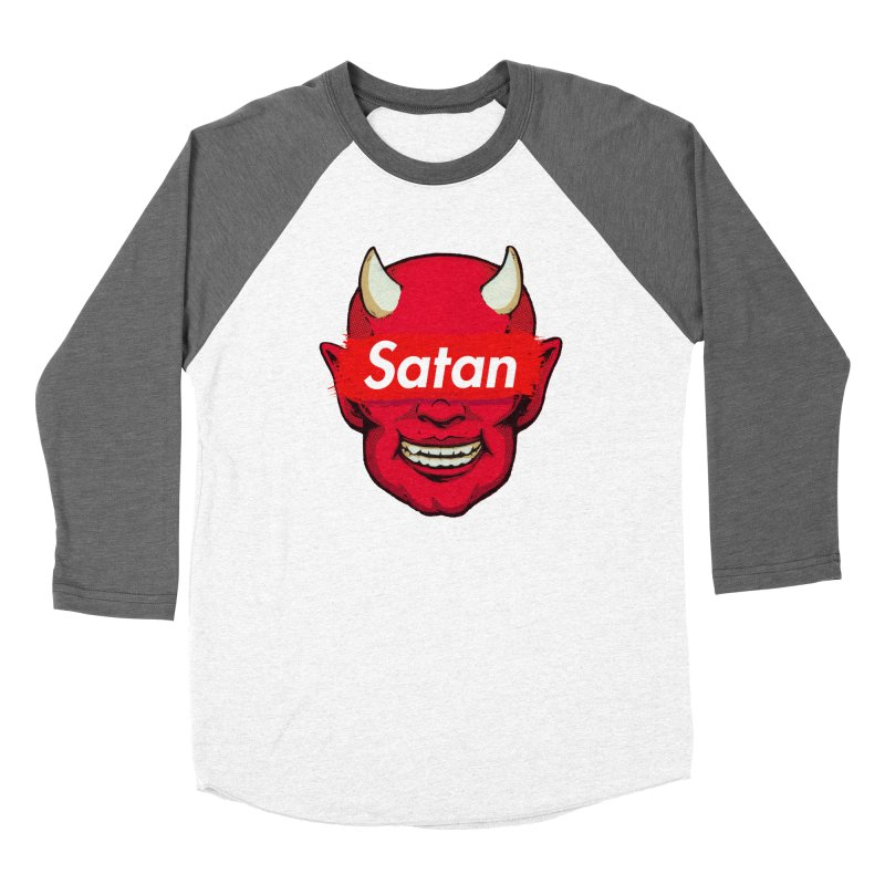 Satan Supreme Women's Longsleeve T-Shirt by villainmazk's Artist Shop