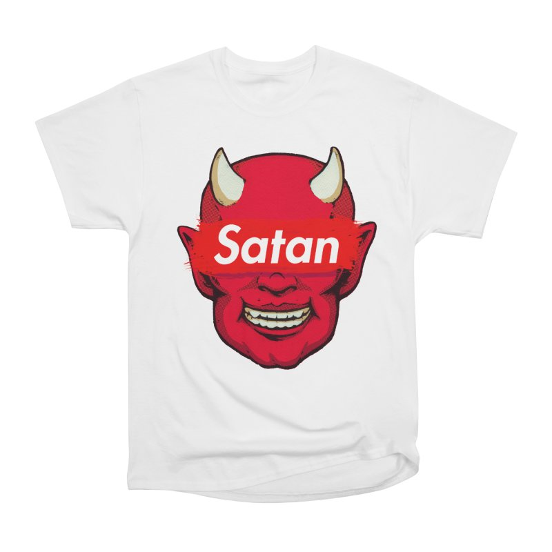 Satan Supreme Men's Heavyweight T-Shirt by villainmazk's Artist Shop