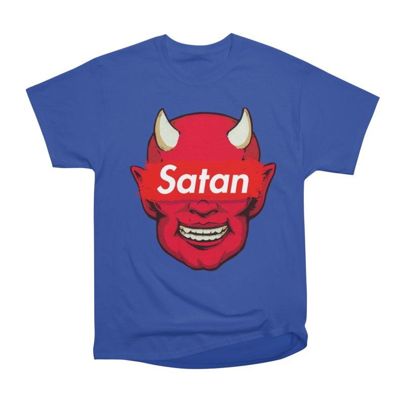 Satan Supreme Men's Heavyweight T-Shirt by villainmazk's Artist Shop