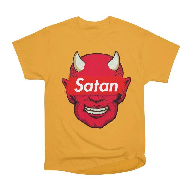 Satan Supreme Women's Heavyweight Unisex T-Shirt by villainmazk's Artist Shop